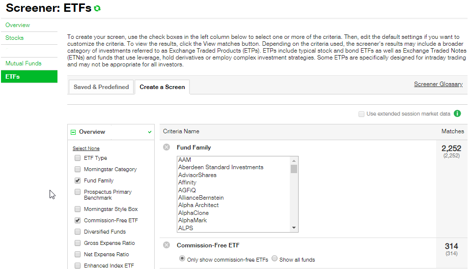 TD Ameritrade ETF Fees Cost: Buy/Sell Charge, Commission