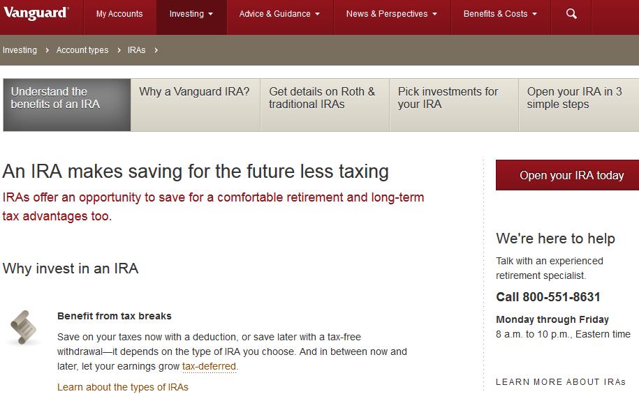 Vanguard Ira Fees  Roth  Retirement Account Cost 2020